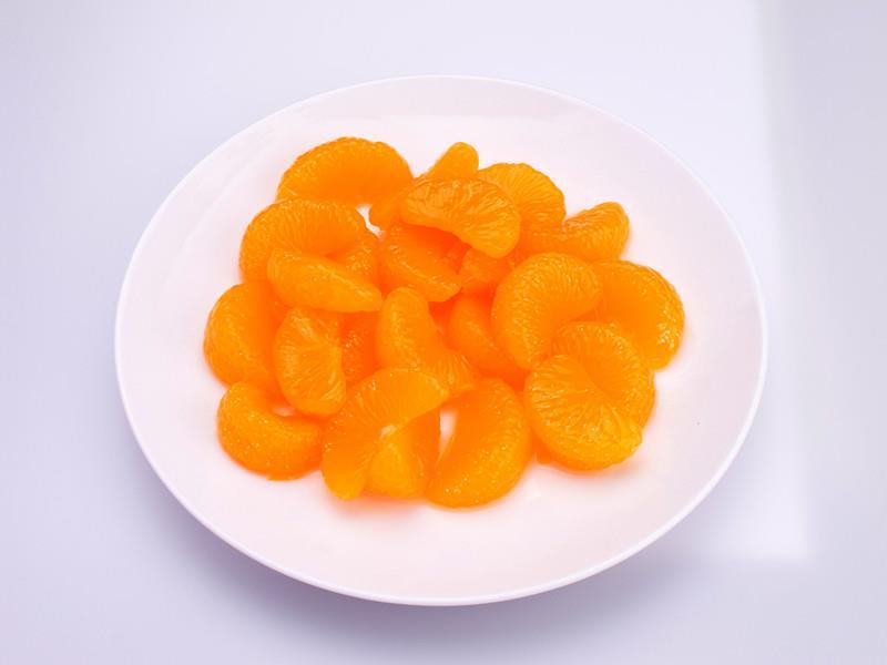 Mandarinky - dílky