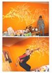 nástěnné malby - malování na zeď