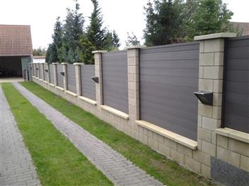 Dřevoplastové ploty