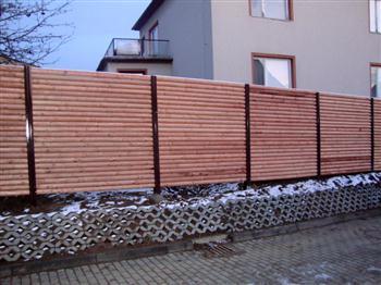 Dřevěné ploty brno