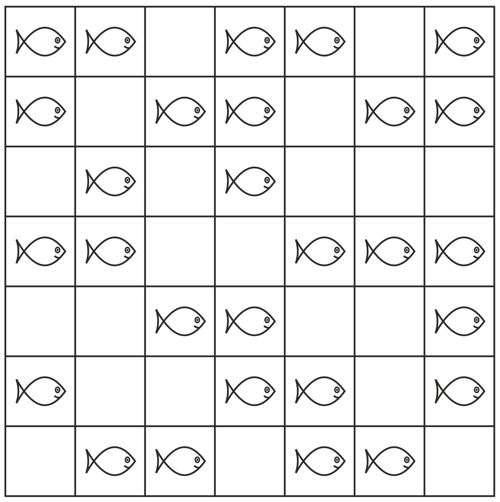 b19ea43d0 Za správné řešení s nejmenším počtem rybářů získáte 15 bodů, za každého  rybáře navíc získáte o 5 bodů méně, nejhůře žádný bod.