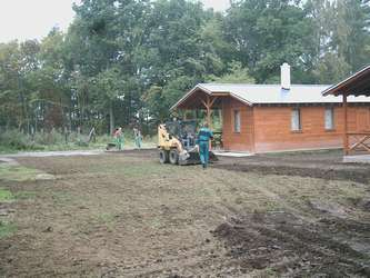 Založení trávníku v Liberci