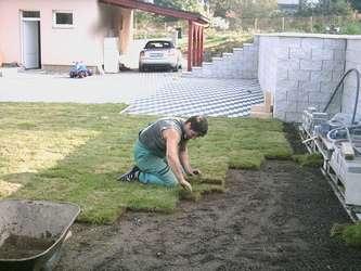 Pokládka a údržba kobercového trávníků Jablonec nad Nisou