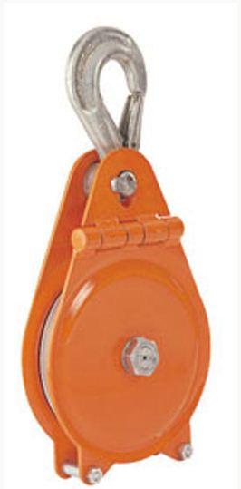 Lanovnice s odklápěcím bočním plechem SRL-K