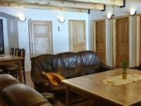 apartmány Na Mlýně - společenská místnost - pronájem apartmánů Jeseníky