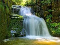 penzion Chata Na Mlýně - Rešovské vodopády - turistika v Jeseníkách