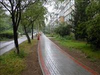 Pražské sídliště Buzulucká ul.
