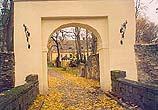 Zámek Janovice -             vstupní brána