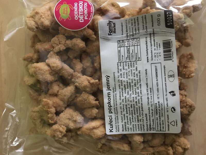 Kuřecí popcorn GYROS
