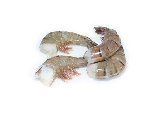 Tygří krevety neloupané, bez hlavy