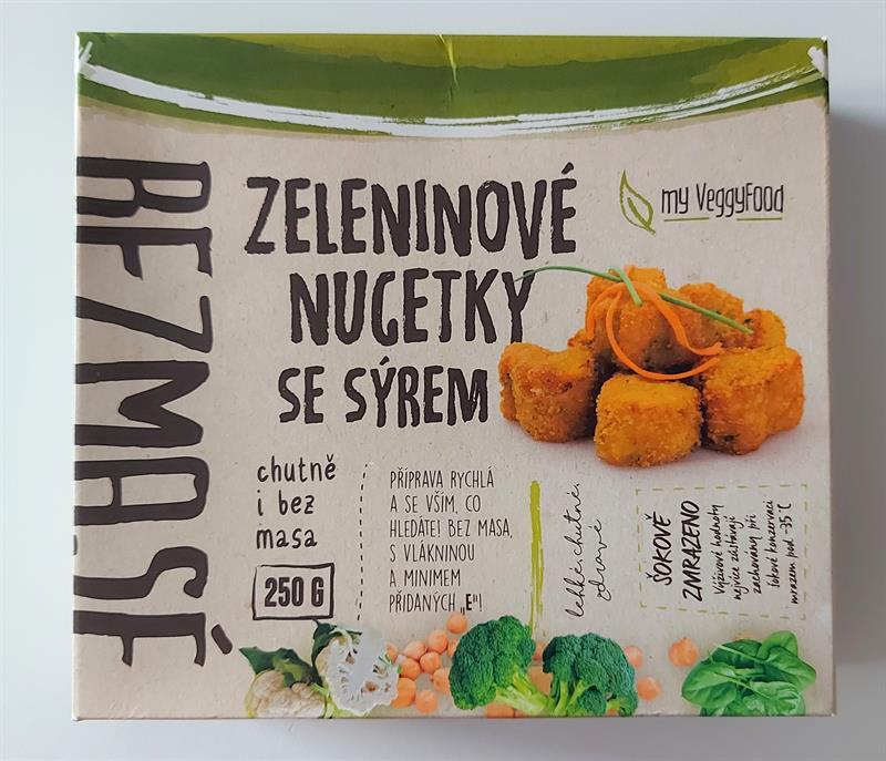 Zeleninové nugetky se sýrem