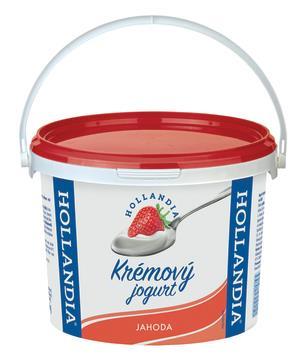 Jogurt krémový jahoda 3,2%