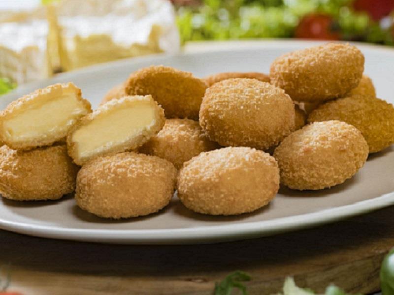 Camembert bites - kolečka
