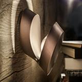 Nástěnné svítidlo Pin-Up bronz