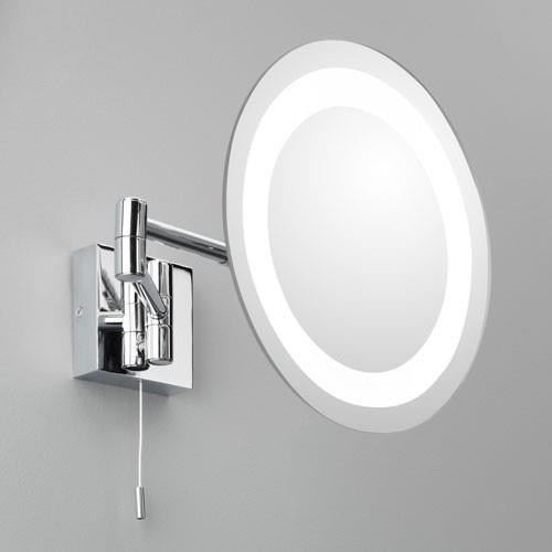 Nástěnné svítící zrcadlo Genova
