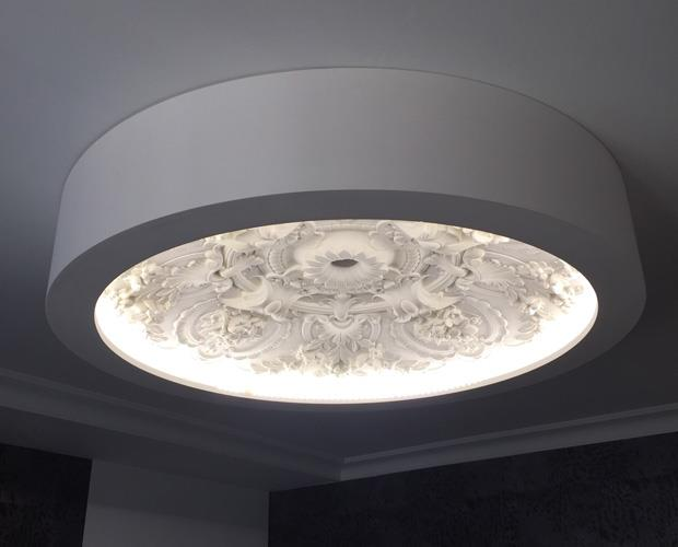 Stropní  LED svítidlo Coupole 100