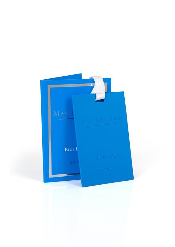 Max Benjamin- Classic vonná karta Blue Flowers