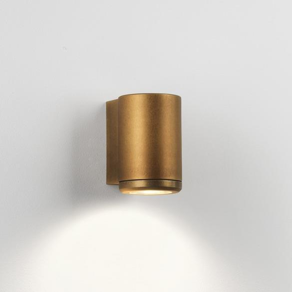 Venkovní nástěnné svítidlo Jura single mosaz