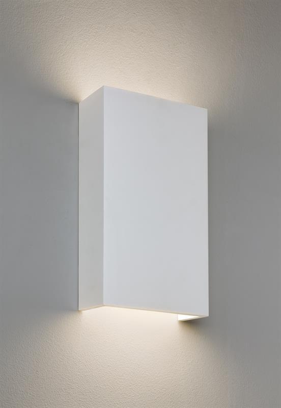 Nástěnné svítidlo Rio bílé