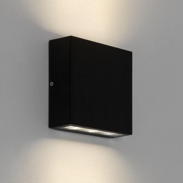 Venkovní nástěnné svítidlo Elis up & down černá