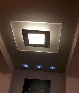 Stropní přisazené svítidlo Mystic 85 x85 cm, NYNÍ 1 KS VE SPECIÁLNÍ AKCI !!