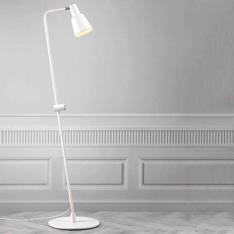 Stojací lampa PATTON, bílá