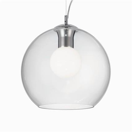 Závěsné svítidlo z čirého skla Nemo 35 cm