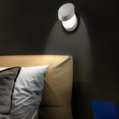 Nástěnné svítidlo Pin-Up bílé