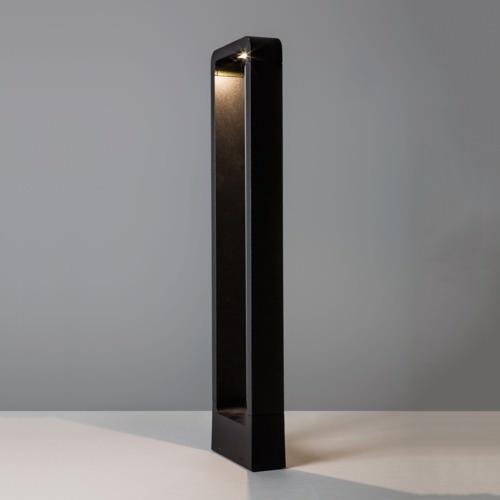 Venkovní sloupek Napier výška 65cm černá