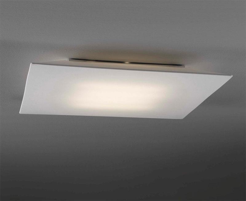 Stropní přisazené svítidlo Plane čtvercové 80 x 80 cm