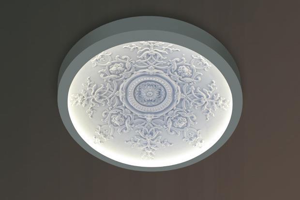 Stropní  LED svítidlo Coupole 75