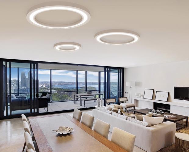 Stropní  LED svítidlo Anneau 80