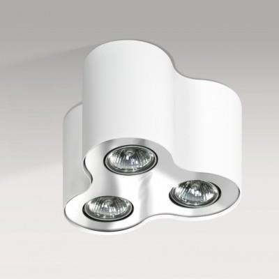Přisazené svítidlo  Neos 3 bílé