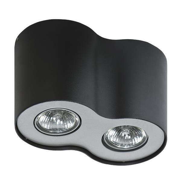Přisazené svítidlo  Neos 2 černé