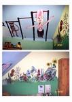 dekorativní malby na zeď