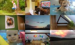děti a barvy v bytě