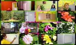 inspirujeme se přírodou barvy v bytě děti koláž