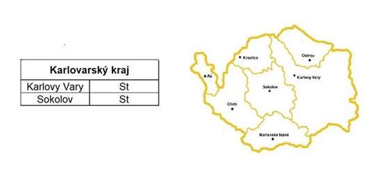 Rozvozy Karlovarský kraj