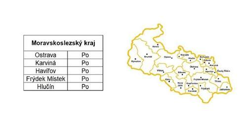 Rozvozy Moravskoslezský kraj
