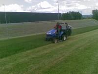 Údržba trávníků