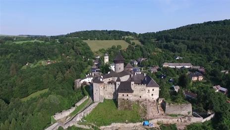 penzion Na Mlýně - hrad Sovinec - turistika v Jeseníkách