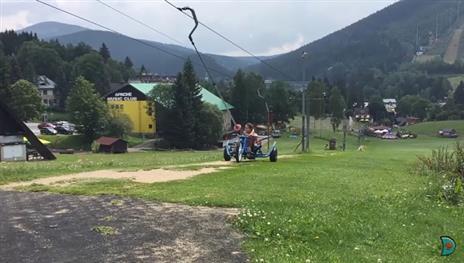 penzion Na Mlýně - horské minikáry Ramzová - turistika v Jeseníkách