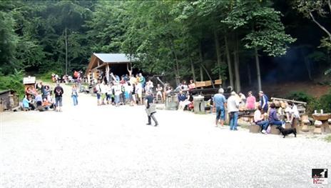 penzion Na Mlýně - Lesní bar v Horní Lipové - turistika v Jeseníkách