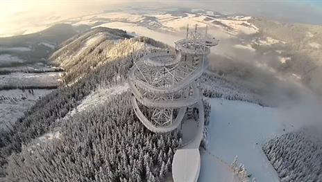 penzion Na Mlýně - Stezka v oblacích Dolní Morava - turistika v Jeseníkách