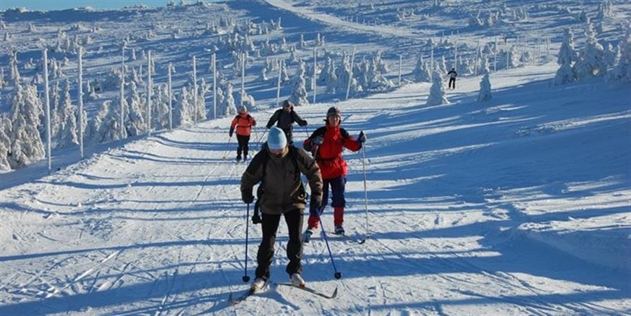 penzion Na Mlýně - běžkařské trasy v Jeseníkách