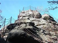 penzion Chata Na Mlýně - Čertovy kameny, Jeseník - vyhlídky Jeseníky