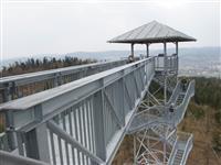penzion Na Mlýně - Hraniční vrch, Město Albrechtice - rozhledny v Jeseníkách