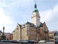 penzion Na Mlýně - radniční věž v Šumperku - vyhlídky Jeseníky