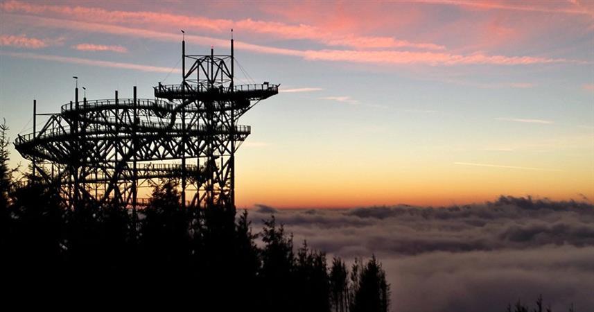 penzion Chata Na Mlýně - Stezka v oblacích, Dolní Morava - rozhledny v Jeseníkách