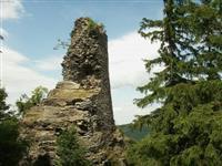 penzion Chata Na Mlýně - Rejvíz, zřícenina hradu Kobrštejn